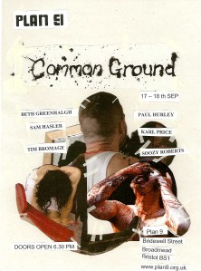 Common Ground eflyer